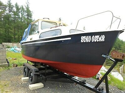 Hardy Navigator 18 Fishing Boat OR River/Canal Cruiser- Engine options available