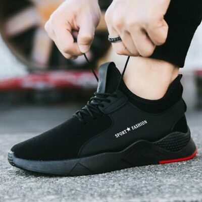 Men/'s Heavy Duty Flats Athletic Shoes Titan Breathable Rubber Sneakers 2019 HOT