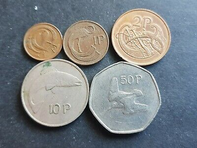 Ireland 1-50 pence coin set