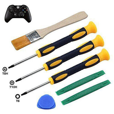 7 X T6 T8H T10H Screwdriver Repair Tool Set For Xbox One 360 PS3 PS4 Controller