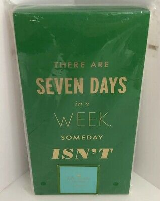 Kate Spade- New York-Fashion Note Pad- Seven Days In A Week Someday Isn't