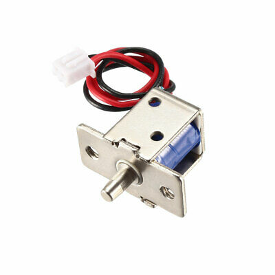 DC 12V 0.54A 4.5mm Mini Electromagnetic Solenoid Lock Push Pull for Door Lock