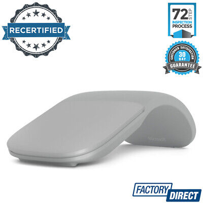 Arc Touch Wireless Optical Mouse Microsoft Surface Accessories Laptop Grey