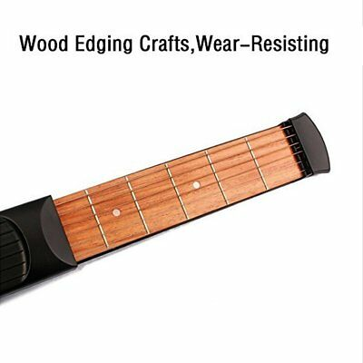 6 Fret Portable Pocket Guitar Practice Tool Guitar Acoustic Chord Trainer Gift