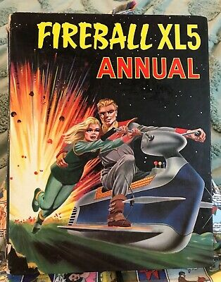 Vintage 1965 Fireball Xl5 Gerry Anderson Tv Show Comic Book Annual Vgc!!!