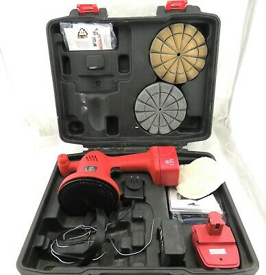 Wax Attack 12V Portable Polisher Kit Light Weight Polisher CAG1106
