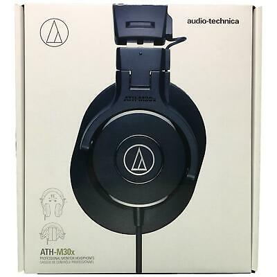 Audio-Technica ATH-M30x Professional Studio Monitor Headphones Black