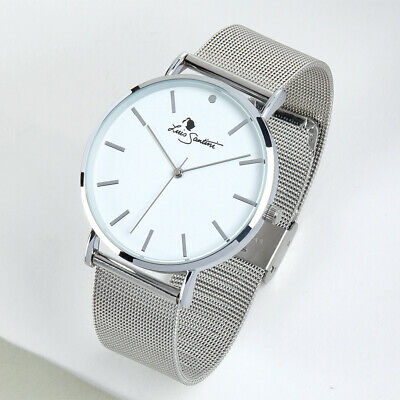 SECONDS  Slim Alloy Watch