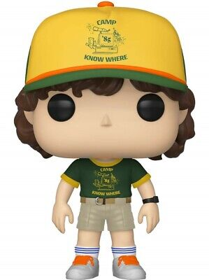 FUNKO POP Stranger Things Dustin Camp SOFT VINYL ACTION FIGURE NEW