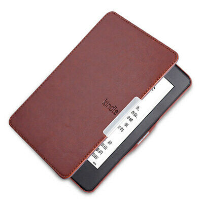 Leather Smart Case Cover For All Amazon Kindle Paperwhite 1 2 3 Sleep/Wakeup
