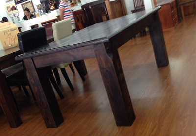 Solid Timber Dining Table Seats 6