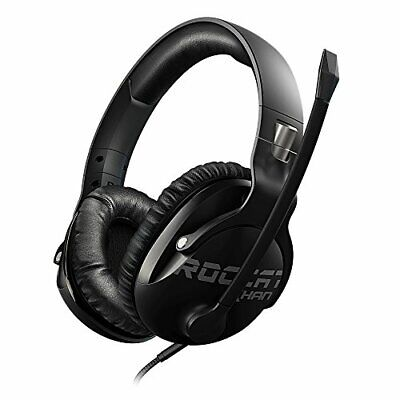 ROCCAT Khan Pro - Hi-Res Esports Gaming Headset (stereo 3,5 mm jack, feather lig