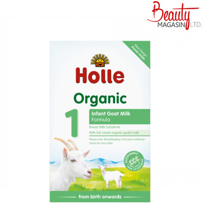 Holle Organic Infant Goat Milk Formula Stage 1 400g (14.1oz) Free Sipping To USA