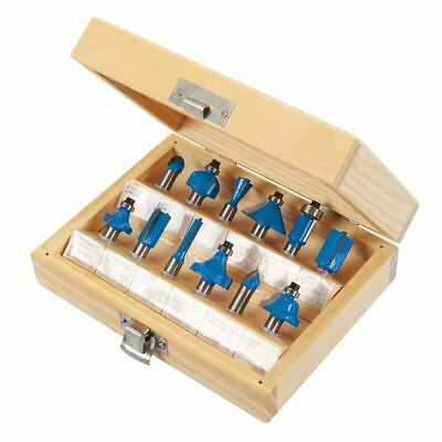 Silverline 251678 8mm 8mm TCT Router Bit Set 12pce