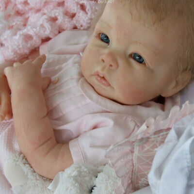 "20""-22"" Reborn Doll Kit DIY Blank Handmade Vinyl Silicone Realistic Baby Supply"