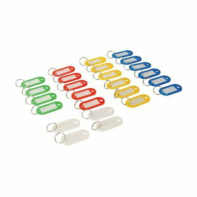 Silverline 469135 25pk Coloured Small Key Tags 25pk