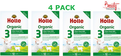 (4 PACK) Holle Organic Infant Goat Milk Follow On Formula Stage 3 400g