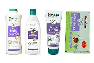 Himalaya Baby Care Combo One Pack (50ml Cream+ 50gm Powder+ 50ml Oil+ 75gm Soap)
