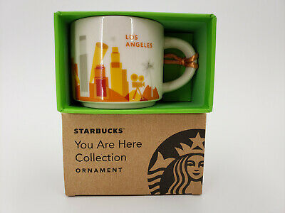 Starbucks You Are Here Collection Ornament Los Angeles Collectible 2 Oz Mug