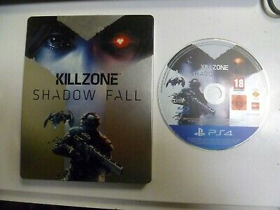 Killzone Shadow Fall Collector's Steelbook Edition PS4 **FREE UK POSTAGE**