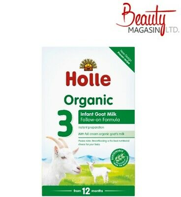 Holle Organic Infant Goat Milk Follow On Formula Stage 3 400g Free Ship To USA