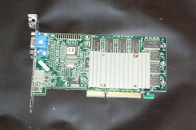 Used 3Dfx Voodoo 3 3000 Agp Vintage Gaming Video Card Tested Working  Box-C2