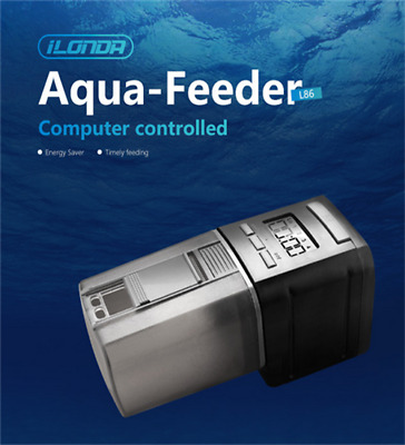Auto Fish Feeder à Retardement Distributeur Automatique de Nourriture de Poisson