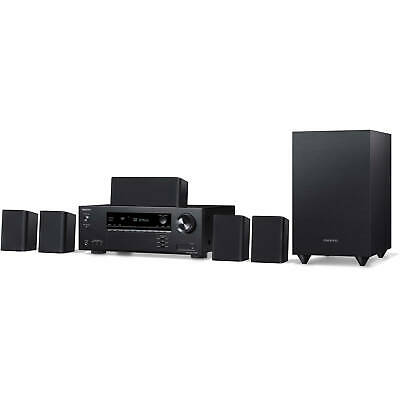 Onkyo HT-S3910 5.1-Channel Home Theater Receiver & Speaker Package