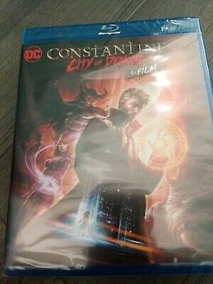 Blu-ray Neuf DC Animation CONSTANTINE City Of Demons Le Film