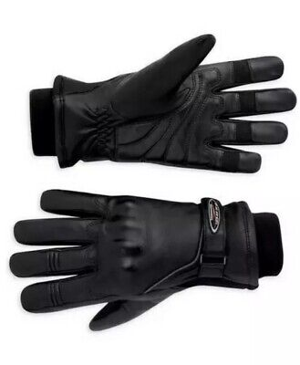 NWT Harley-Davidson Med Women's FXRG Leather Motorcycle Riding Gloves 98124-11vw