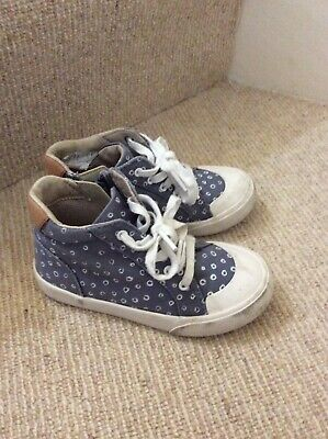 Clarks Air High Tops Shoes Boots Size 9.5f Infant