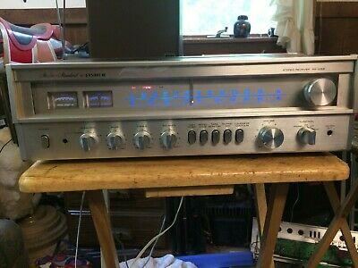 Very Nice Fisher Rs-1052 Stereo Receiver-Vgc-52 W/C-100% Working-30 Day Warranty