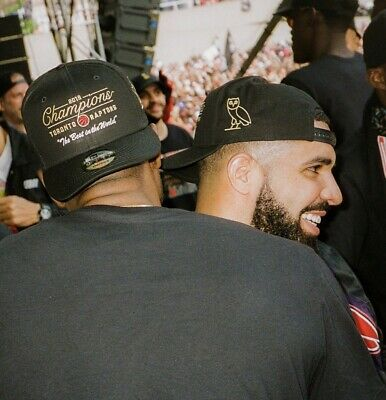 OVO x Toronto Raptors Championship The Best In The World Snapback HAT & T-SHIRT