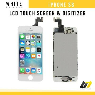 New Replacement LCD Touch Screen Digitizer Display For Apple iPhone 5S White
