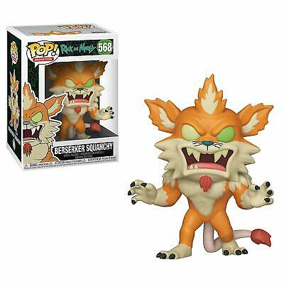 Funko POP! Animation: Rick and Morty - Berserker Squanchy 568 40251 In stock