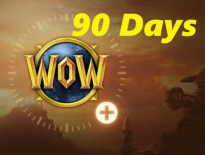 30% Off 90-Day World Of Warcraft Game TimeWOW  - US Server prepaid 3 months