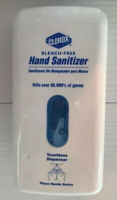 Clorox Industrial Hand Sanitizer Touchless Dispenser Mountable Bleach Free