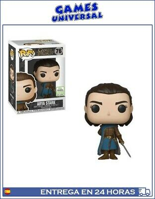 Funko Pop Game Of Thrones Arya Stark Comic Con Limited Edition