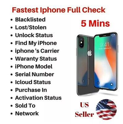 CHECK IPHONE IMEI INFO FAST (30min)