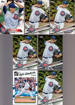 Huge 25 + different KYLE HENRICKS 2015 - 2019 Cubs