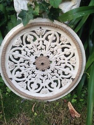Cast Iron Victorian Antique Ceiling Rose