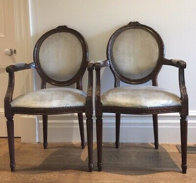 French Louis Style Fine Chairs - Selling As A Pair - Lovely Condition