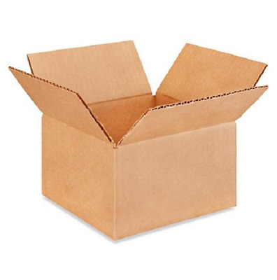 100 7x7x4 Cardboard Paper Boxes Mailing Packing Shipping Box Corrugated Carton