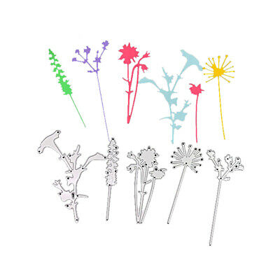 Dandelion Cutting Dies Stencil Scrapbooking Embossing Christmas Card Paper Craft