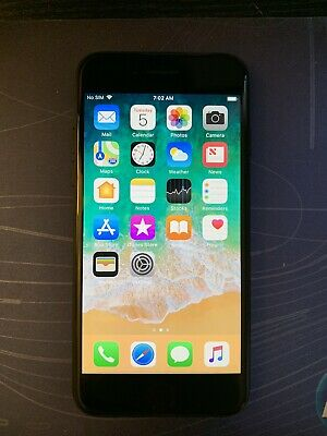 Apple iPhone 7 - 32GB - Good Condition- Black- UNLOCKED- A1778 (GSM) Used