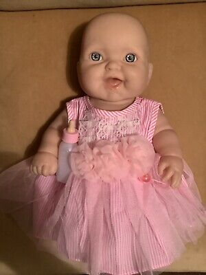 Realistic Berenguer Baby Doll Soft Vinyl Body 34cm Tall Excellent Condition