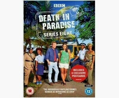 Death In Paradise - Series 8 - Region 2 DVD - Fast & Free Delivery