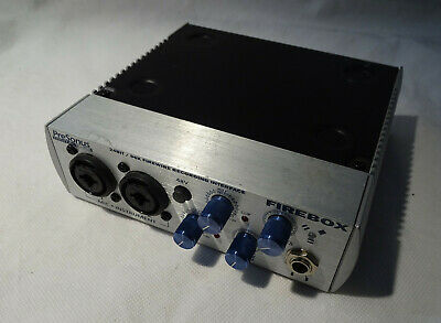 Firebox Presonus 24bit/96k Firewire Recording Interface Digital Audio