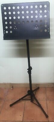 Folding Metal Orchestra Music Stand or Lectern