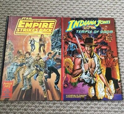 Star Wars and Indiana Jones Annuals - 1981 & 1984